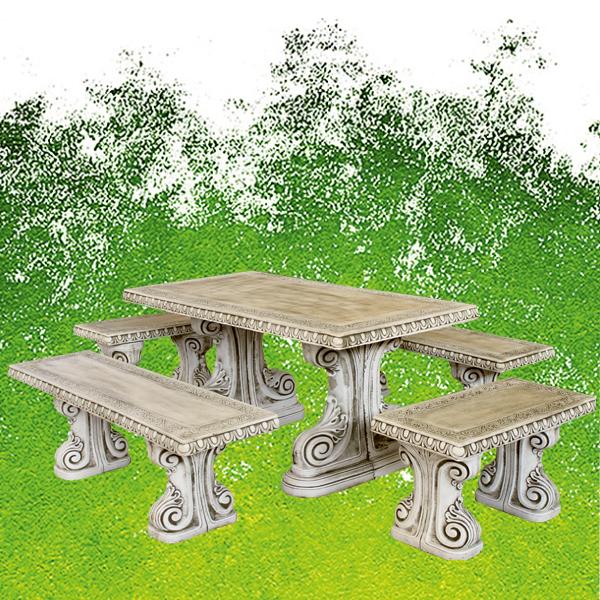 Jardin Arabe: Salon De Jardin Arabe Ocre Se Compose D'une Table Ainsi